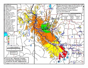 KRID Idaho 22 Coverage Map